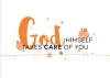 Productafbeelding Enkele kaart God Himself takes care of you