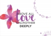 Productafbeelding Enkele kaart Above all love each other deeply
