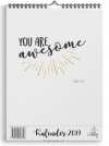 Productafbeelding Maandkalender beautiful day 'You are awesome'