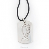 Productafbeelding Pewter necklace fish/Jesus